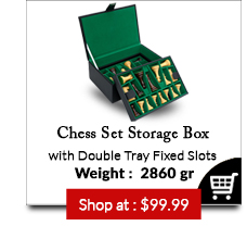 Chess Set Storage Box