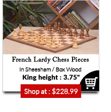 Combo of Reproduced French Lardy Chess Pieces