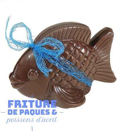 poisson en chocolat