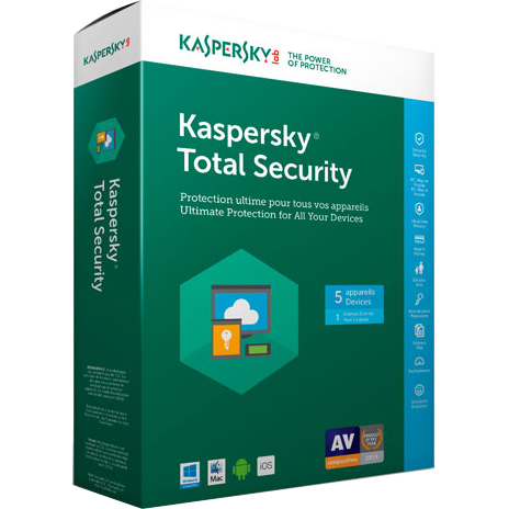 Kaspersky Total Security for 5 Device Download