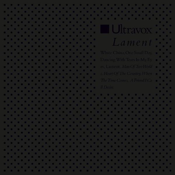 Ultravox 'Lament' reissue