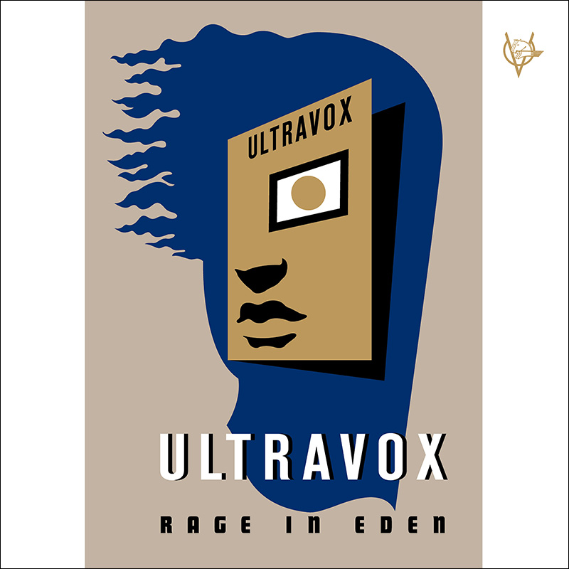 Ultravox Rage in Eden 2CD digipak