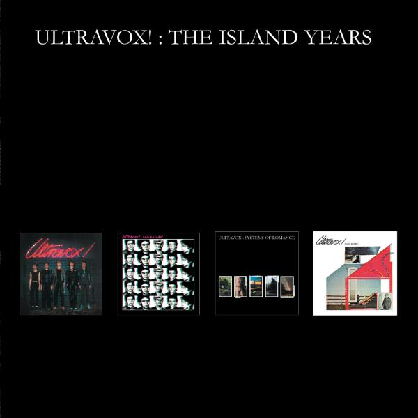 Ultravox! The Island Years 4CD Box Set