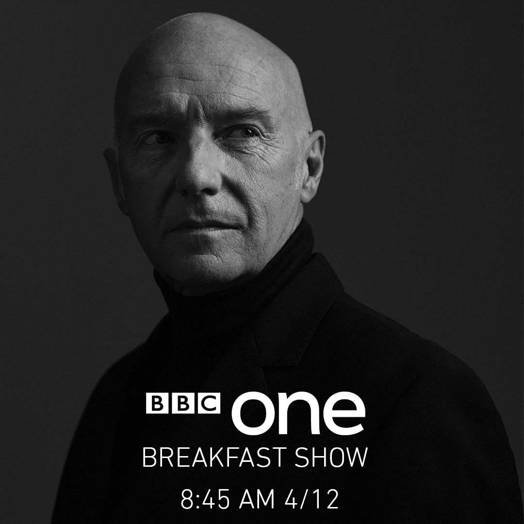 Midge Ure on BBC1's Breakfast Show from 8.45am Monday 4th December 2017