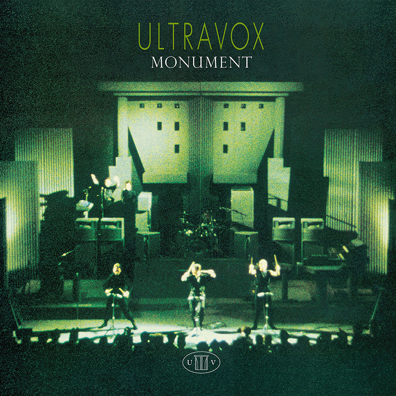 Ultravox Monument CD+DVD digipak
