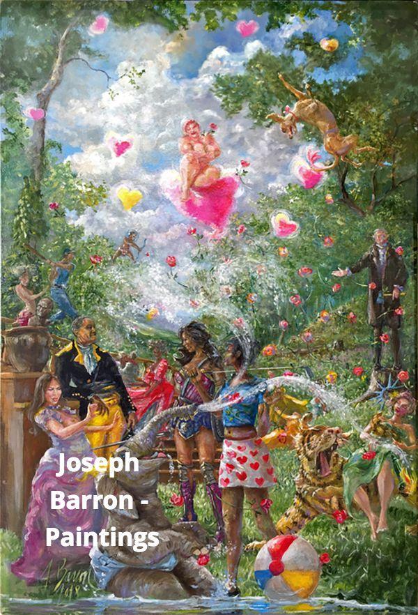 Joseph Barron - Paintings