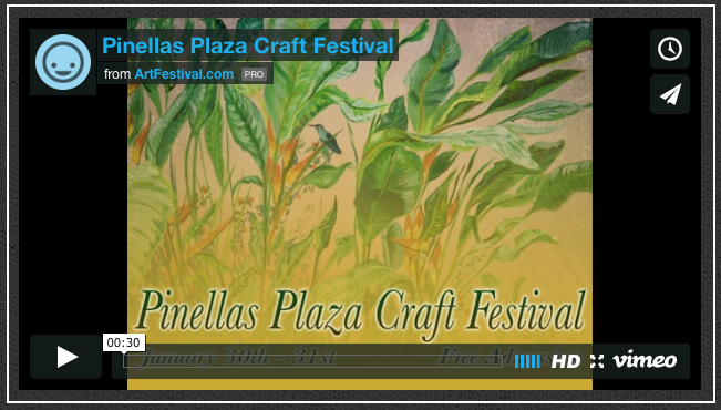 Pinellas Plaza Craft Festival