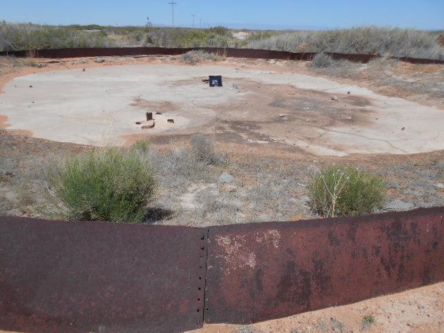 Water Tank along Rail Line