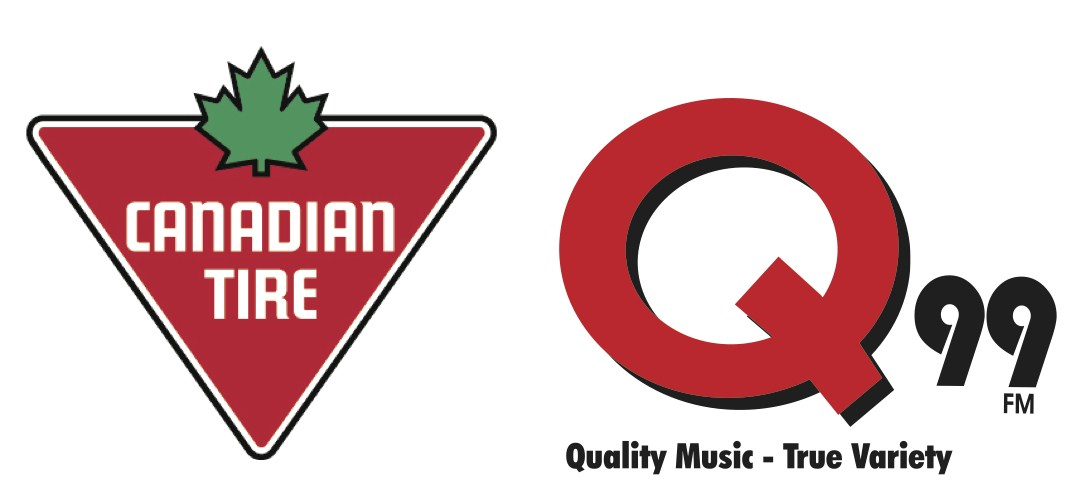 Q99 Radio and Canadian Tire Grande Prairie