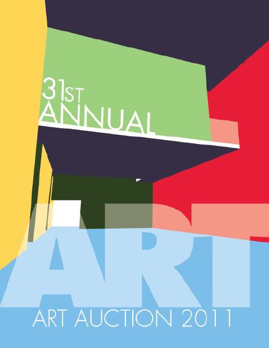 31st Annual Art Auction catalogue