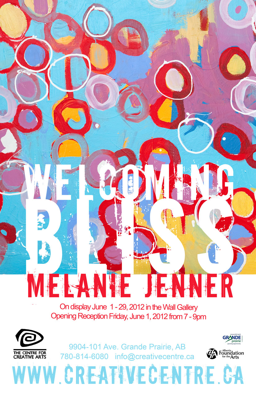 Melanie Jenner: Welcoming Bliss (June 1 - 29, 2012)
