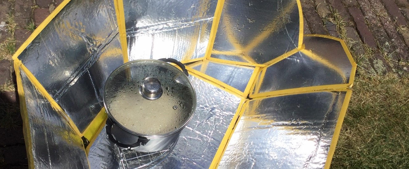 Solar cooking zonne-oven