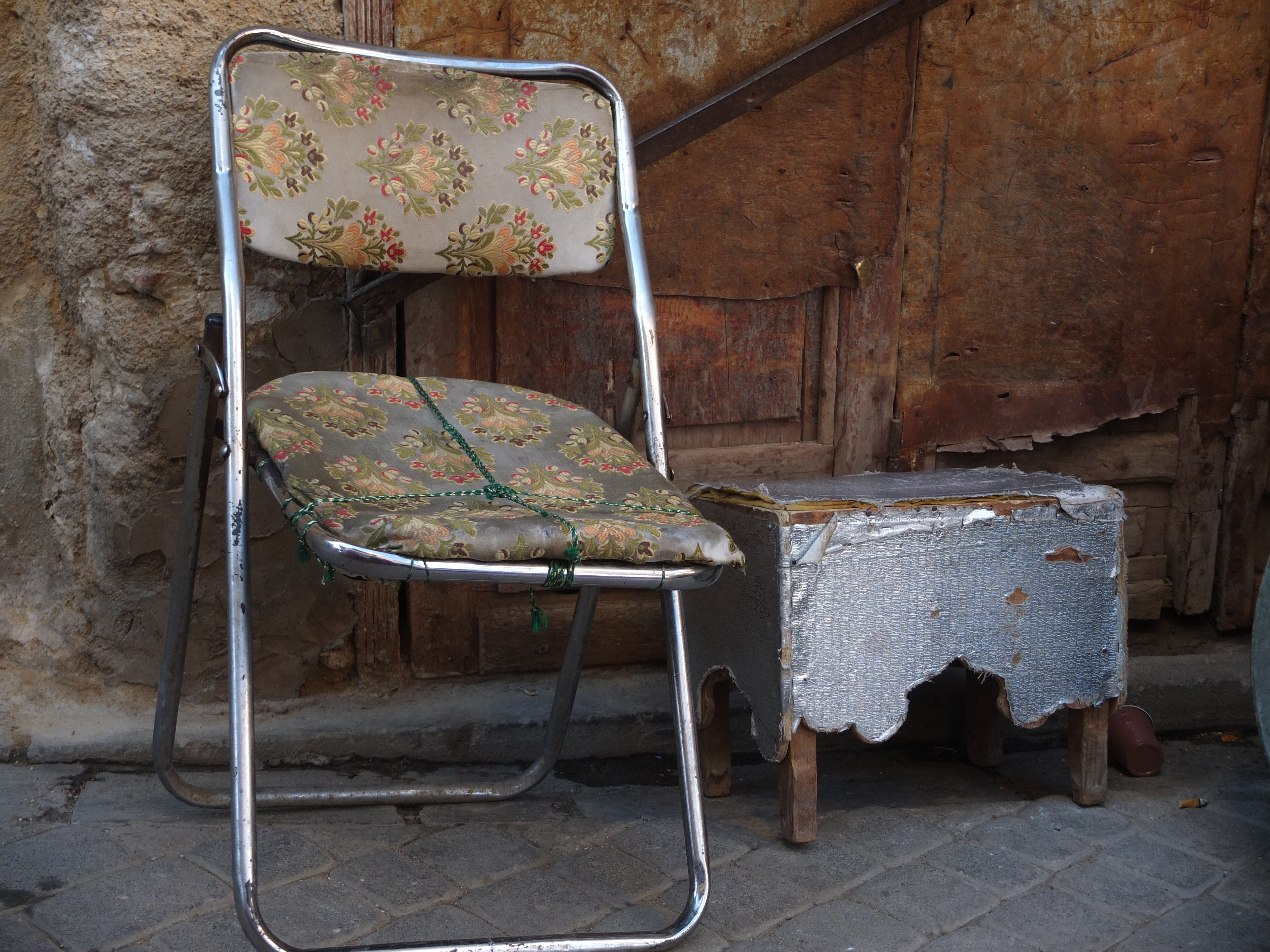 Old chair in Fes