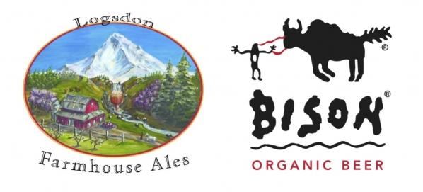 Logsdon Farmhouse Ales & Bison Organic Beer Collaboration