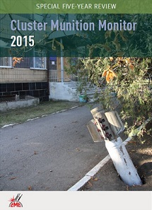 Cover - Cluster Munition Monitor 2015