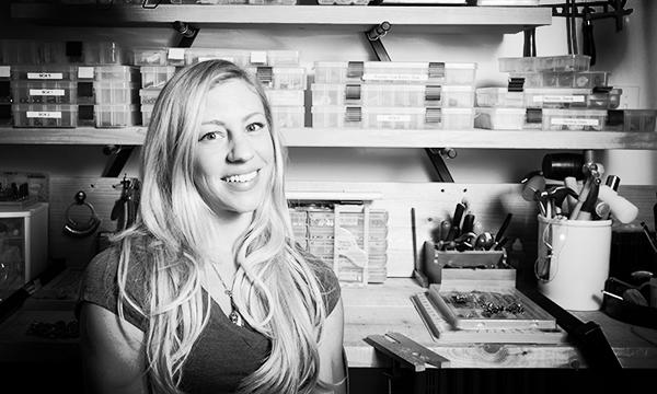 Sabrinah Renee, boutique jeweler portrait