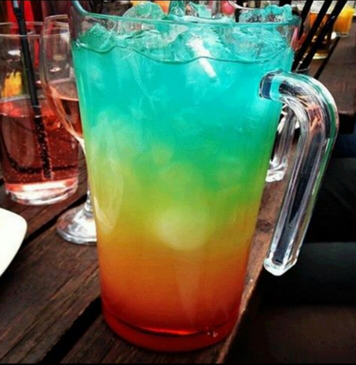 Tasty looking coctail!