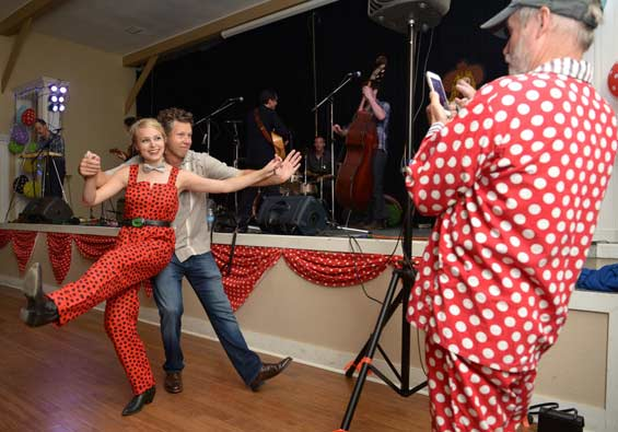 Centrum's Honky Tonk Polka Dot Dance