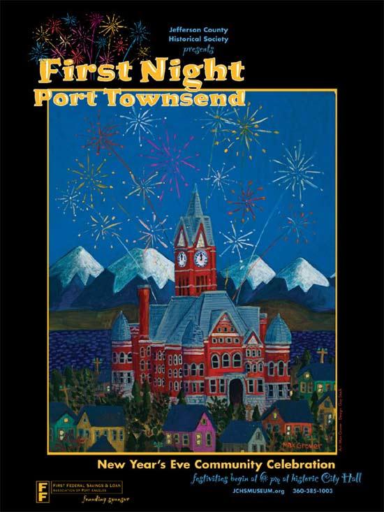 Celebrate First Night in Port Townsend