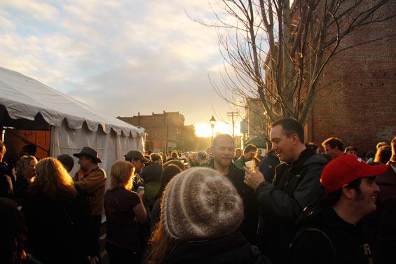 Strange Brewfest gathering