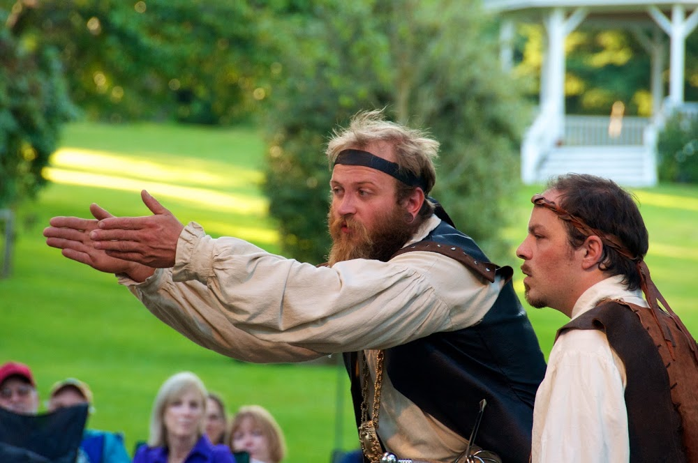 Shakespeare in the Park in Port Townsend