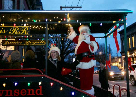 Santa in Port Townsend!