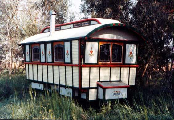 Jim Tolpin Gypsy Wagon
