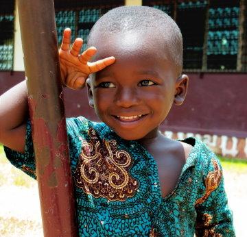 Boy in Central African Republic