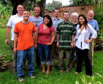 September 2012 Central African Republic EMI Team