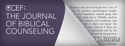 The Return of theJournal of Biblical Counseling