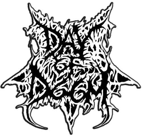 DAY OF DOOM signs With Lavadome