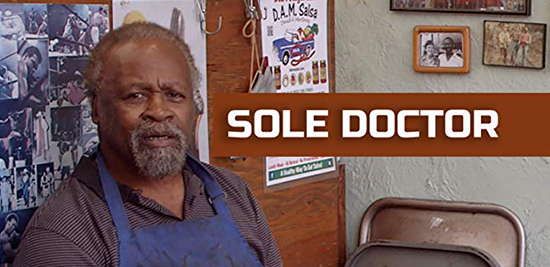 Academy-qualified Sole Doctor documentary now on Amazon Prime.