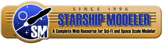 Starship Modeler is the complete resource for Sci-Fi & Space Scale Modelers