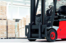 Hydrogen system for forklift trucks installed