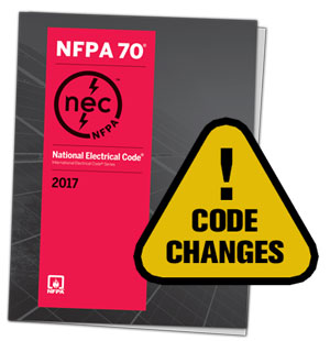 NEC Code Book Changes