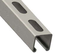 Slotted Channel for Threaded Rod