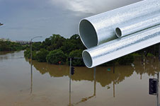 Conduit Flood Waters