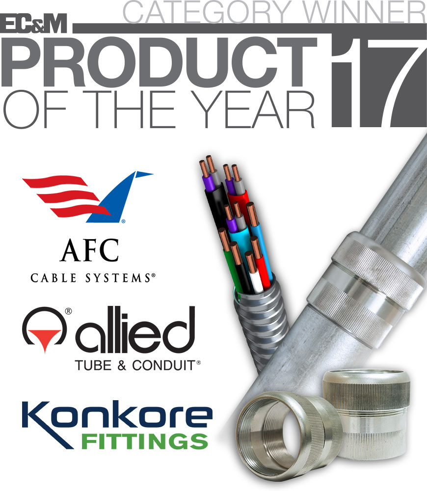 EC&M Category Winners for Product of the Year