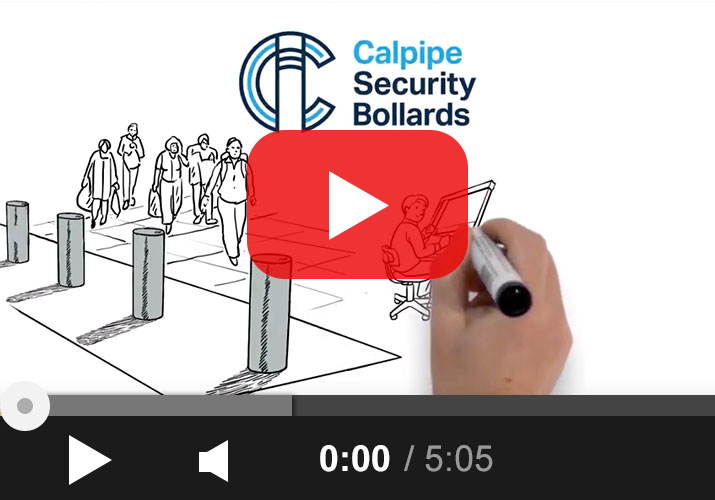 Calpipe Security Bollards Video