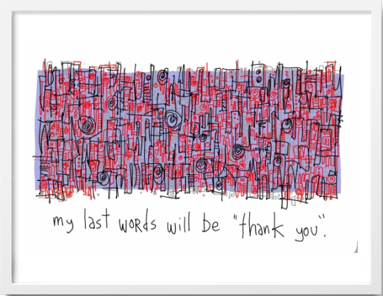 Thank You.1 - Great cartoon. @gapingvoid 'Thank You' May 25, 2010