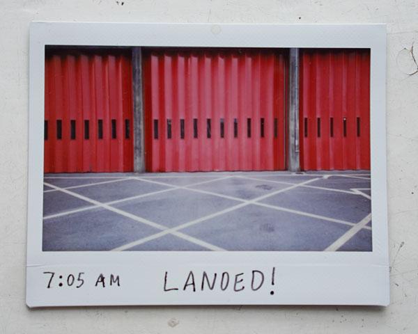 7:05 AM LANDED!