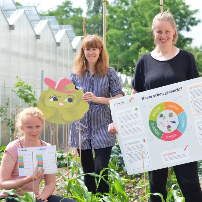 Das Bildungsteam der GemüseAckerdemie
