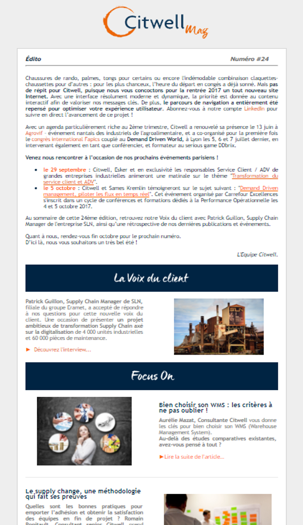 newsletter citwell 24