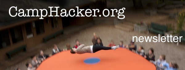 CampHacker Newsletter - for summer camp directors and leaders