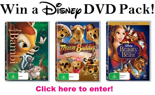 Go to the Disney DVD competition page...