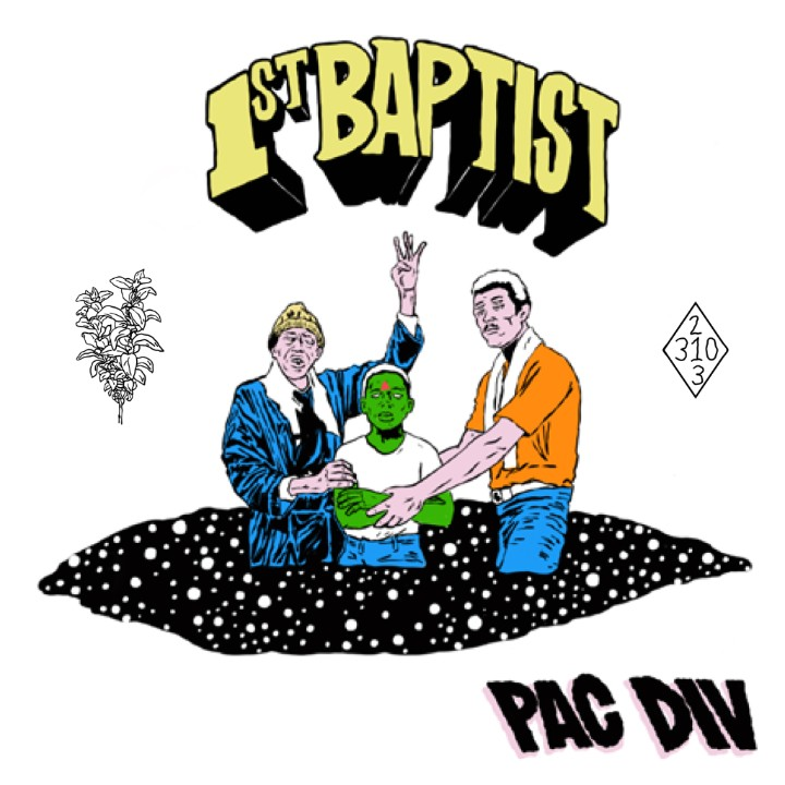 "Cali Trio Pac Div Triumphantly Return with 1st Baptist Album, Share Trippy ""Stoked"" Video"