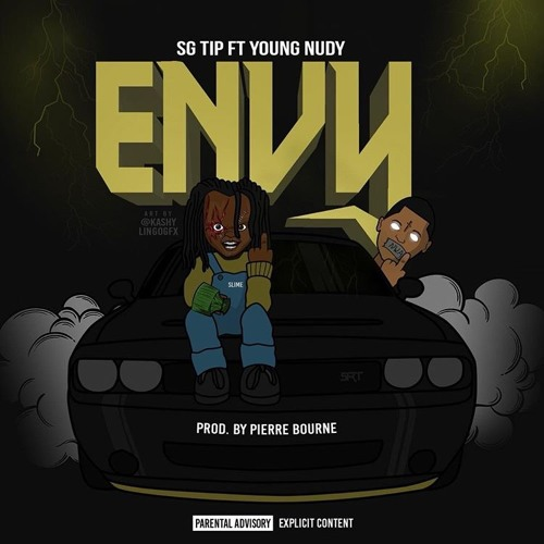 "Slaughter Gang Emcee SG Tip Teams With Young Nudy and Pi'erre Bourne for ""Envy"""