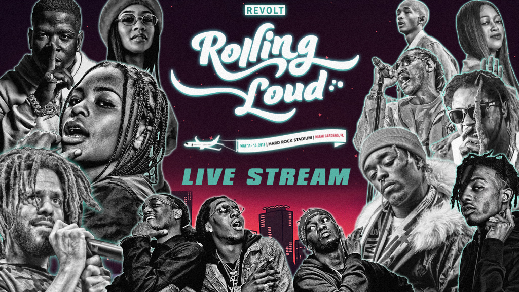 Rolling Loud Teams with REVOLT TV For the Exclusive Festival Livestream