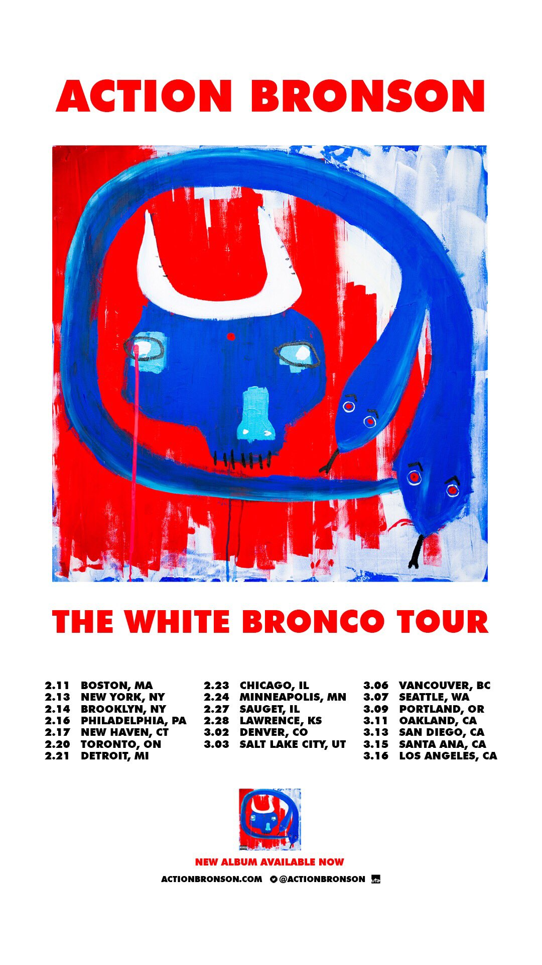 "Action Bronson Announces 2019 ""White Bronco Tour,"" Tickets Available Now"