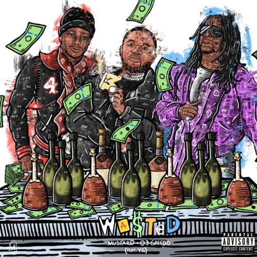 "03 Greedo Recruits Mustard For Still Summer In The Projects LP, Shares ""Wasted"" ft. YG via Rolling Stone"